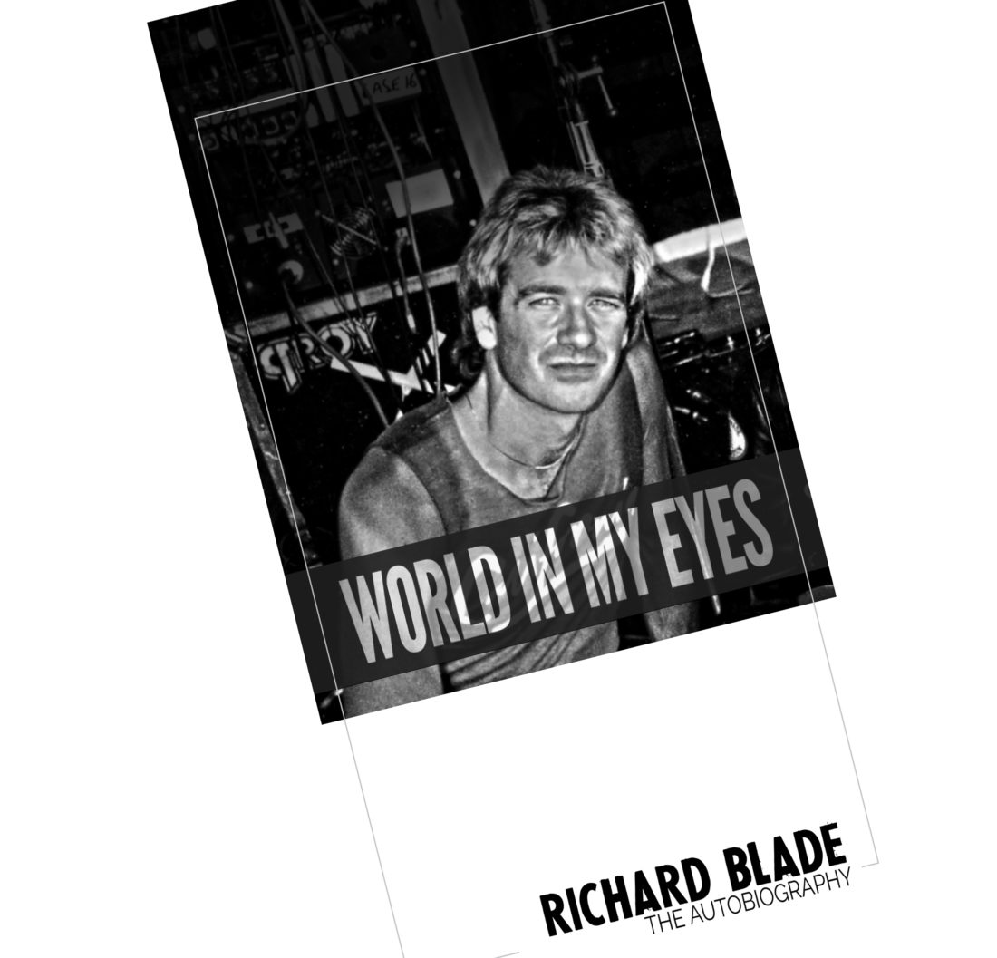Richard Blade book design