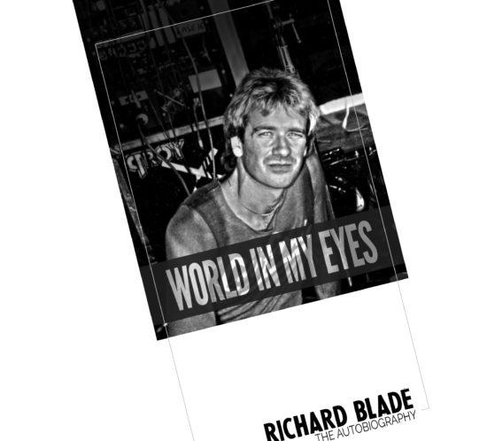 Richard Blade book design