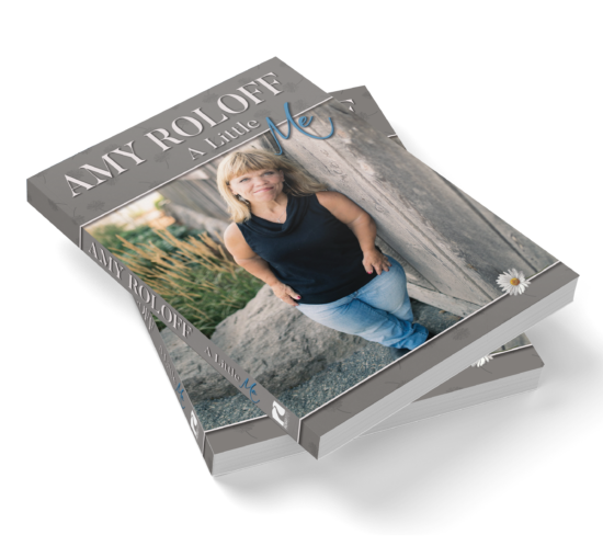 Book cover design and interior layout for Amy Roloff