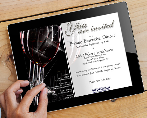 digital invitation