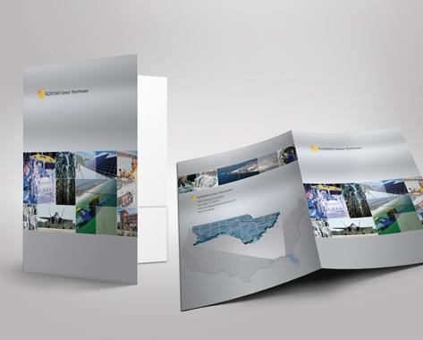 Pocket folders designed from Florida's Great Northwest