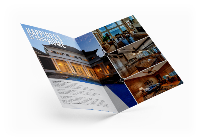 bifold brochure informative and a eyecatching